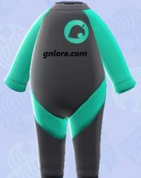 《集合啦!動物森友會》狸克潛水衣 @game.gnlore.com