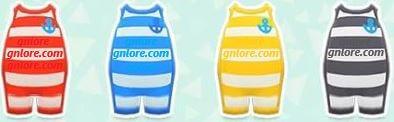 《集合啦!動物森友會》條紋潛水衣 @game.gnlore.com