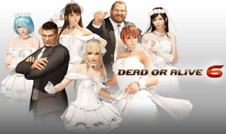 生死格鬥 6 DLC