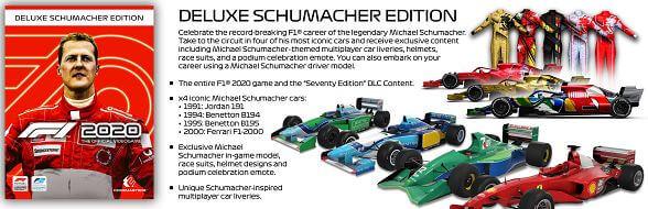 《F1 2020》豪華版 (Deluxe Schumacher Edition)