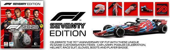 《F1 2020》70週年紀念版 Seventy Edition