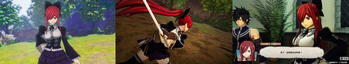 妖精的尾巴-Nintendo Switch/Steam版早期購入特典:艾爾莎特別服裝「妖精尾巴選美小姐」 @game.gnlore.com