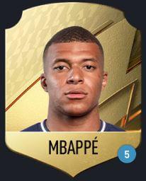 FIFA 22,Kylian Mbappé租借物品