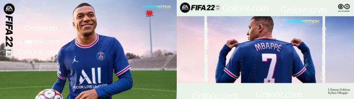 FIFA 22,標準版,終極版,封面