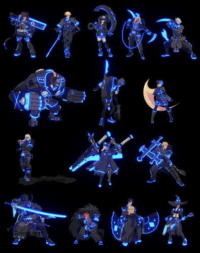 聖騎士之戰 奮戰,終極版角色特殊色