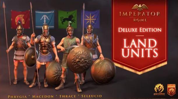 統治者: 羅馬(Imperator: Rome)-希臘陸軍模組