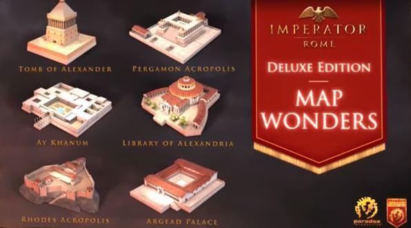 統治者: 羅馬(Imperator: Rome)-希臘歷史遺跡