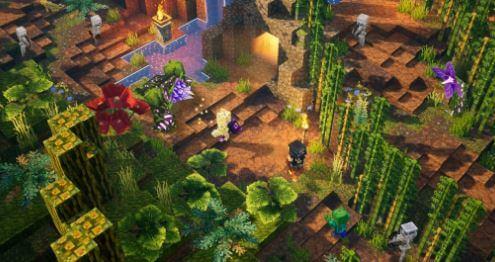當個創世神 地下城 (我的世界 地下城) DLC - 叢林覺醒地圖