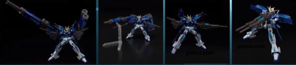 《機動戰士鋼彈 極限 VS. 極限爆發》特別鋼彈模型「HG 1/144 EXTREME GUNDAM & ECLIPSE-F PARTS (EXVS. 10th ANNIVERSARY COLOR Ver.)」 @game.gnlore.com