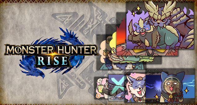 魔物獵人崛起,mhr,貼圖套裝,特別貼圖1