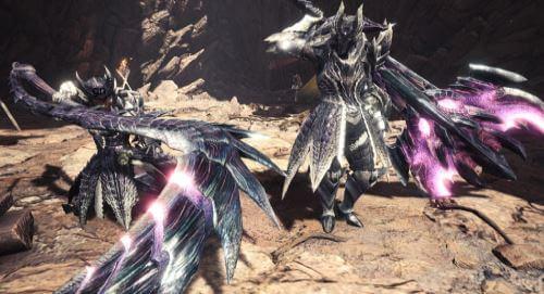 《魔物獵人 世界》煌黑龍武器和防具「精英·煌黑龍α」和「精英·煌黑龍β」套裝 @game.gnlore.com