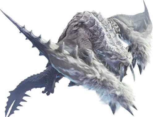 《魔物獵人世界》/(怪物獵人世界)/霜刃冰牙龍 @game.gnlore.com