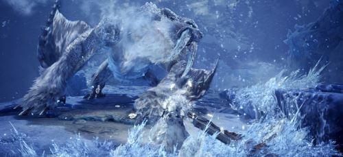 《魔物獵人世界》霜刃冰牙龍-吐息技能 @game.gnlore.com