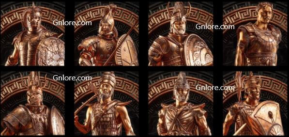全軍破敵傳奇:特洛伊 英雄角色, 全面戰爭傳奇:特洛伊 英雄角色, game.gnlore.com
