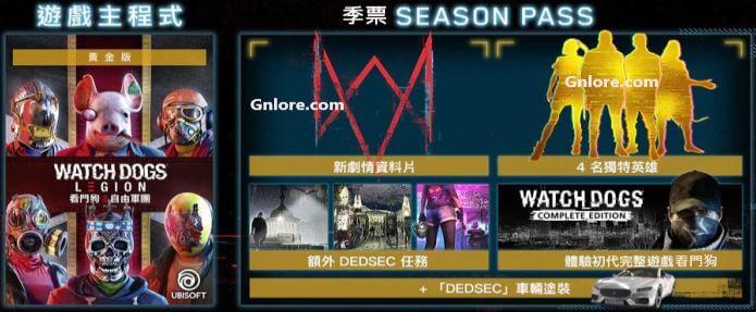 看門狗:自由軍團 黃金版, game.gnlore.com